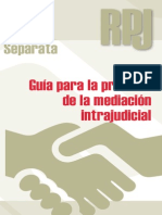 Guia Practica Para La Mediacion Intrajudicial CGPJ