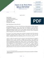Grijalva Letter to DOI IG on ALEC and Land Management April 16