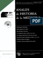 Anales de Historia de La Medicina Nov 2010