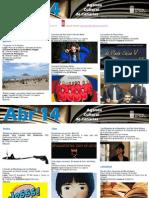 Agenda Cultural ABR Del 16 Al 20 TFE