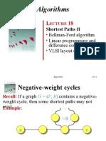 Bellman Ford's Algorithm