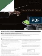 Sharp MX-3610N Quick Start Guide