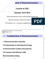 Fundamentals of telecommunication