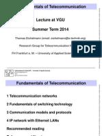 Fundamentals of telecommunication