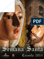 Programa Semana Santa Cazorla 2014