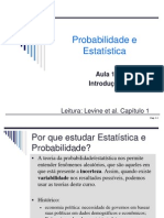 Aula 1 - Introducao a Estatistica 2013_2