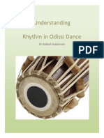 Understanding Rhythm in Odissi Dance