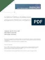 Bosca%Iglesia Catolica Democracia Presupuestos Historicos