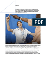International Fed Sports Physiotherapy