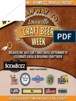 2014 Halfway to Louisville Craft Beer Week Guide