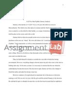 A & P by John Updike Literary Analysis
