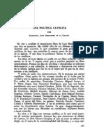F. de la Cigoña%una política católica V-333-334-P-393-399