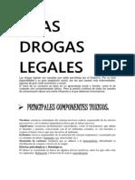 Las Drogas Legales