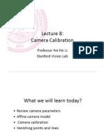3 Camera Calibration