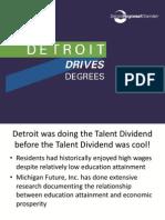 Detroit Drives Degrees