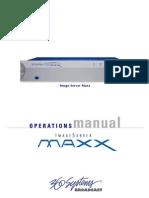 MAXX Op Manual June06