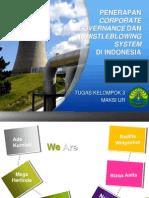 Penerapan GCG di Indonesia PPT