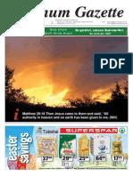 Platinum Gazette 18 April 2014