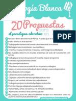 20 Propuestas para cambiar el paradigma educativo en el aula
