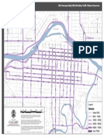 2012 Downtown Traffic Flow Map