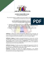 Acuerdo 001 de 2009 - Estatuto General