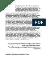 Entrevista Boulez