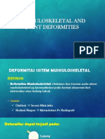Musculoskeletal and Joint Deformities