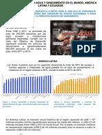 Metas Del Milenio en Agua y Saneamiento Ecuador 2014