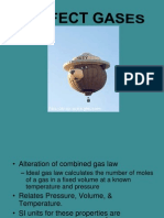 Perfect Gases