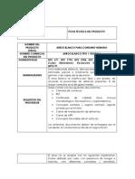 FICHAS TECNICAS DEFINITIVAS 2014