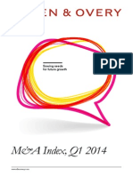 M&A Index - 2014 Q1
