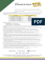 Catálogo de Recomendaciones C07 a C13