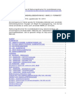 Anvisningar for Innehallsbeskrivning i MARC 21-formatet