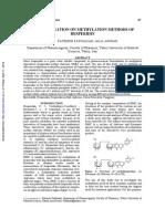 nghiên cứu phương pháp methyl hoá Hesperidin