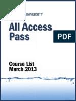 Wireshark Course List