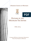 Outline of the Michigan Tax System