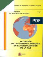 003 Actualizacion de Las Fuerzas Armadas en La Consolidacion de La Paz