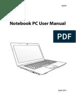 ASUS A53SV Manual