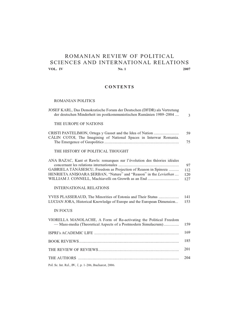 Political science   Romania   Communism