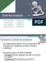 Internal Analysis_SM Presentation