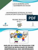 EDUCAÇÃO A DISTANCIA X PRESENCIAL
