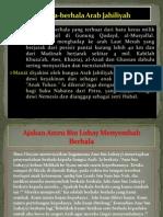 Berhala-Berhala Arab Jahiliyah