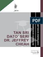 TSJC Scholarships(Entrance&Continuing)