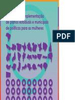 Guia para a construção e implementação de planos estaduais e municipais de políticas para as mulh