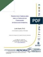 sauve03 PERSPECTIVAS CURRICULARES PARA LA FORMACIÓN DE FORMADORES EN E A