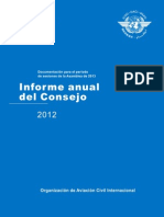 informe icao 2012