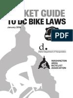 DC Bike Law Pocket Guide Jan2014