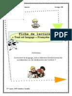 Fiche de Lecture - Tout Est Langage - F Dolto
