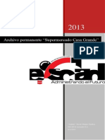 Proyecto Final - Archivo Permanente - Supermercado Casagrande