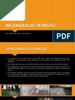Ingenieria de Transito - 2014